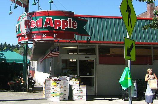 Bert's Red Apple Storefront